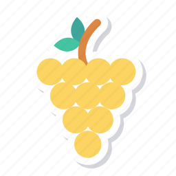 berry, bunch, food, fruit, fruits, grape, grapes icon