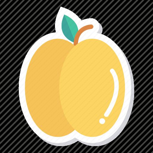 cooking, food, fresh, freshfruit, fruit, healthy, peach icon