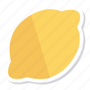 food, fruit, fruits, juice, lemon, lime, yellow icon