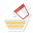 drink, jug, kitchen, milk, pot, utensil, water icon