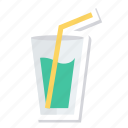 drinks, food, juice, milk, orange, shake, summer icon