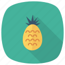 ananas, food, fruit, healthy, juicy, pineapple, sweet icon