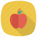 apple, food, fresh, fruit, health, red, sweet icon