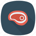 animal, barbecue, beef, food, healthy, meat, steak icon