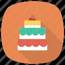food, cherry, pie, valentine, birthday, cake, christmas