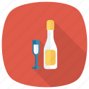 alcohol, drink, glass, bottle, romantic, celebrate, wine