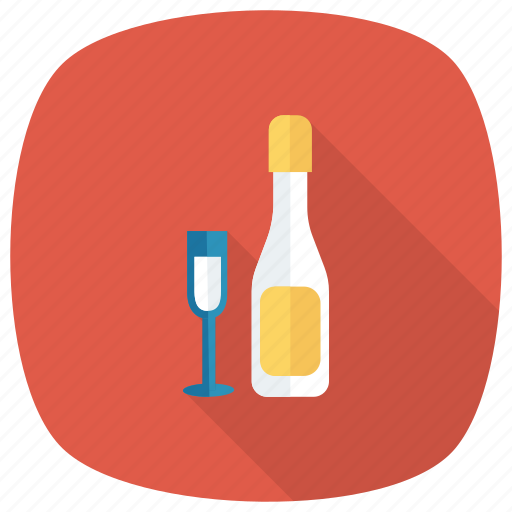 alcohol, bottle, celebrate, drink, glass, romantic, wine icon