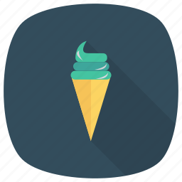 birthday, christmas, cone, cream, ice, icecream, party icon