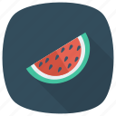 summer, slice, watermellon, food, season, fruit, melon
