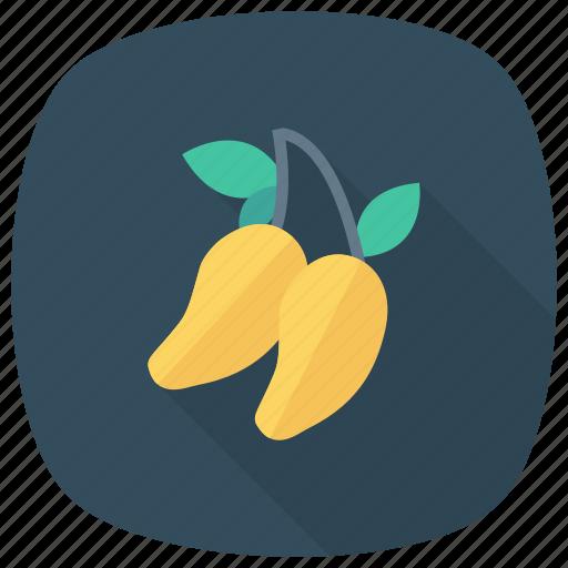 food, fresh, freshfruit, fruit, mango, summer, yellowmango icon