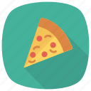 fast, food, italian, pizza, pizzaslice, restaurant, slicer icon