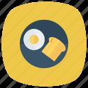 boiled, wheat, food, baker, bowl, egg, bread