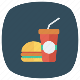 beef, burger, drink, fastfood, food, hamburger, junkfood icon