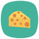 bakery, breakfast, butter, cheese, dairy, food, kitchen icon