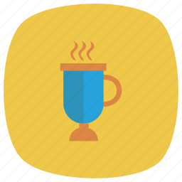 cafe, coffee, cup, drink, food, glass, hot icon