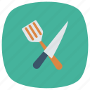 cook, eat, food, fork, kitchen, restaurant, utencil icon