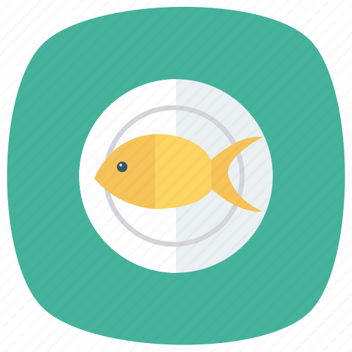 cooking, fish, food, fried, healthy, meat, seafood icon