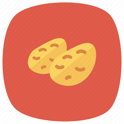 Potato, food, vegetables, cooking, fries, french, chips icon