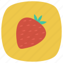 food, freshfruit, fruits, healthy, red, strawberry, summer icon