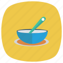 bowl, chicken, chinese, eggs, fast, fried, soup icon