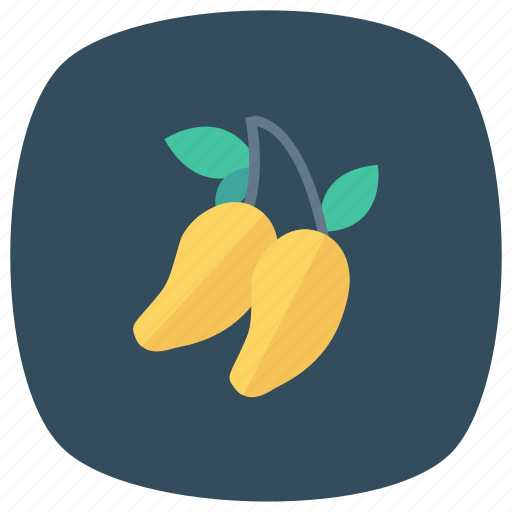 food, fresh, freshfruit, fruit, mango, summer, yellowmango icon