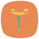 cooking, eat, fast, fastfood, hotdog, restaurant, sausage icon