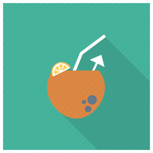 Beach, coco, coconut, drink, fruit, nut, summer icon - Download on Iconfinder