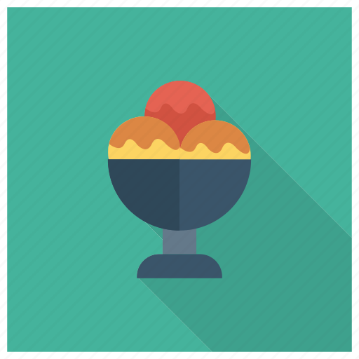 Colorful, cream, cup, food, ice, sweet, tasty icon - Download on Iconfinder