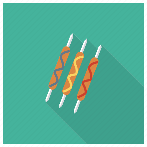 Bbq, fast, fastfood, food, grill, hot, hotdog icon - Download on Iconfinder