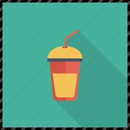 drink, glass, grape, juice, milk, orange, summer icon