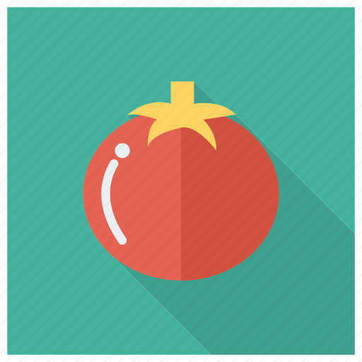 Tomato, eating, food, cooking, fresh, ketchup, red icon - Download