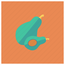 avocado, cooking, food, fruit, green, health, pear icon