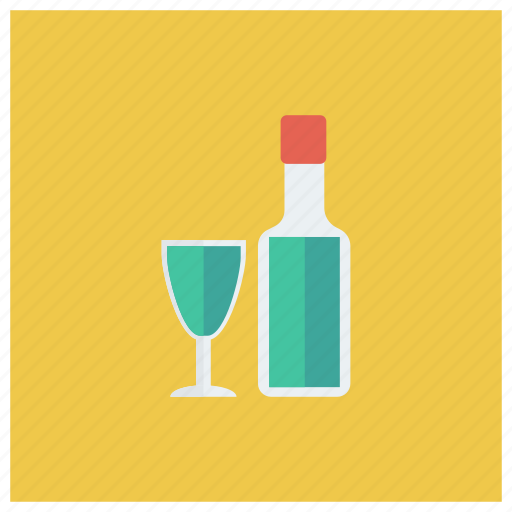 alcohol, bar, bottle, champagne, drink, glass, wine icon