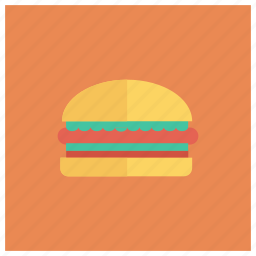 burger, cheeseburger, cooked, deliciuous, food, hamburger, meal icon