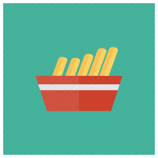 chips, cooking, food, french, fries, frozen, potato icon