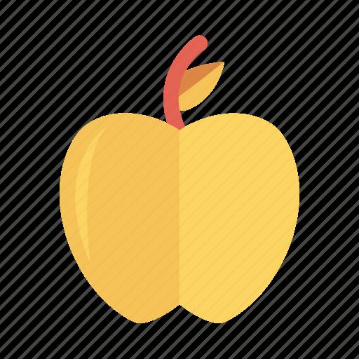 apple, food, fresh, fruit, green, red, sweet icon