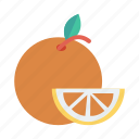 arrange, freshfruit, fruit, health, juice, orange, summer icon