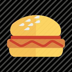 burger, cheeseburger, cooked, fastfood, food, hamburger, meal icon