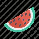 food, fruit, melon, season, slice, summer, watermellon