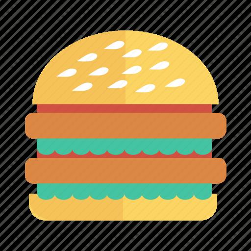 breakfast, burger, fastfood, food, fries, hamburger, meal icon