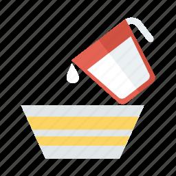 drink, jug, kitchen, milk, pot, utensil, water icon