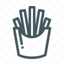 food, french, fried, fries, potatoes icon