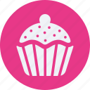 beverage, drinks, food, kitchen, muffin, restaurant icon