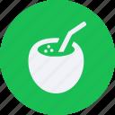 beverage, coconut, drinks, food, kitchen, restaurant icon