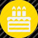 beverage, birthday, cake, drinks, food, kitchen, restaurant icon