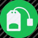 bag, beverage, drinks, food, kitchen, restaurant, tea icon