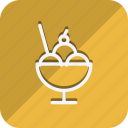 appliance, cooking, drinks, food, iicecream, kitchen, utensils icon