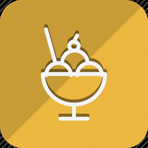 appliance, cooking, drinks, food, iicecream, kitchen, utensils icon