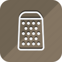 appliance, cooking, drinks, food, grater, kitchen, utensils icon
