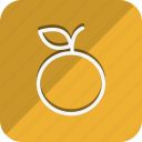 appliance, cooking, food, gastronomy, kitchen, orange, utensils icon